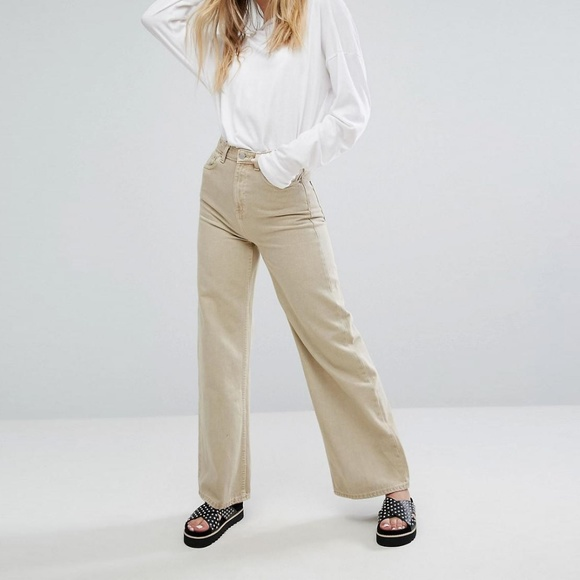 hot-selling latest how to get 60% cheap Weekday Ace Jean in Sand 27